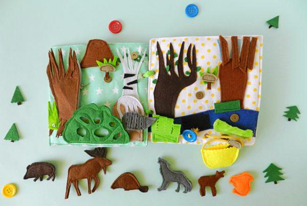 quiet-kids-book-with-woodland-forest-animals
