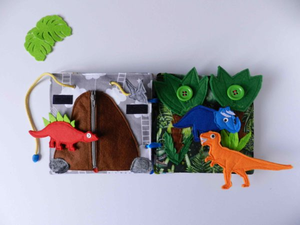 personalised-busy-book-with-dinosaurs