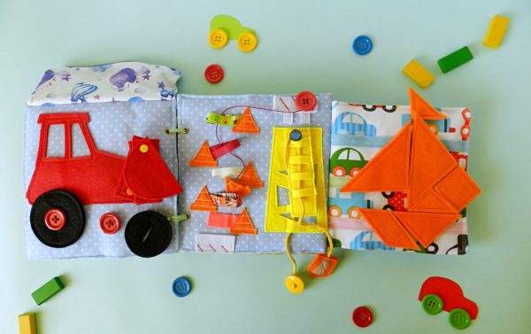 my-activity-book-with-red-tractor-yellow-crane-and-orange-tangram
