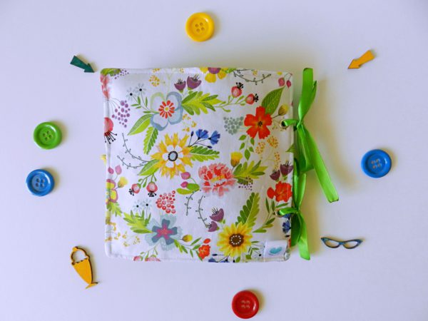 floral-cover-of-quiet-book-for-girl