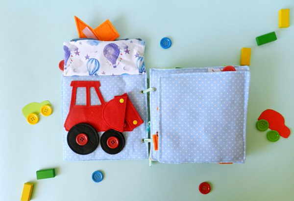 quiet-book-for-boy-with-tractor